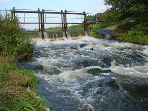 Strömungsreicher Fluss