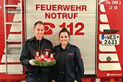 Feuerwehren Schermbeck und Dorsten geben wichtige Sicherheitshinweise für die Weihnachtszeit
