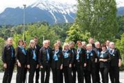 Akkordeonisten in Innsbruck