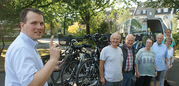 Buergermeister Radtour nach Rybnik