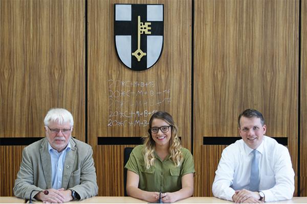 Bürgermeister empfängt internationalen Besuch in Dorsten