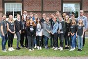 18 junge Leute beginnen ihre Ausbildung bei der Stadt Dorsten