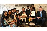 Ehrenpatenschaft für Zainab Sahi