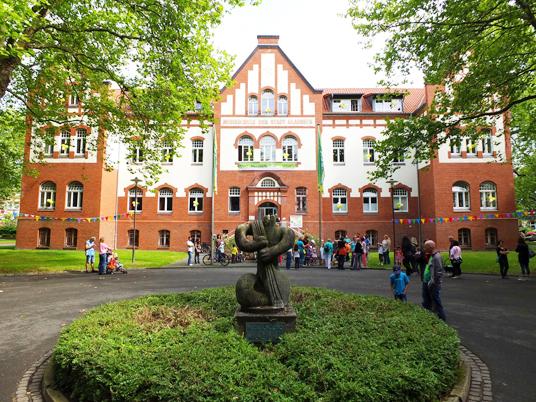 Das Bild zeigt die Musikschule