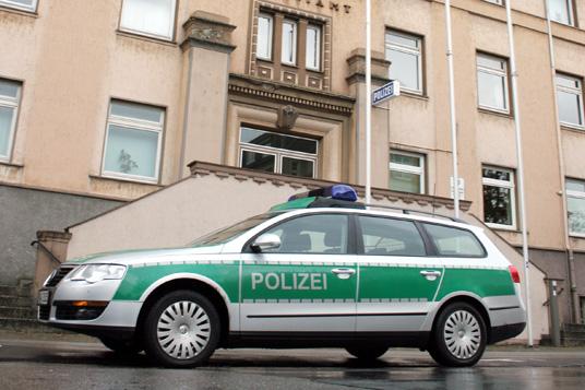 Das Bild zeigt die Gladbecker Polizeiwache