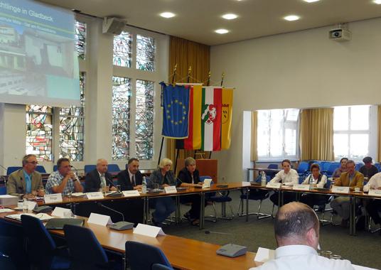 Das Bild zeigt den Integrationsrat