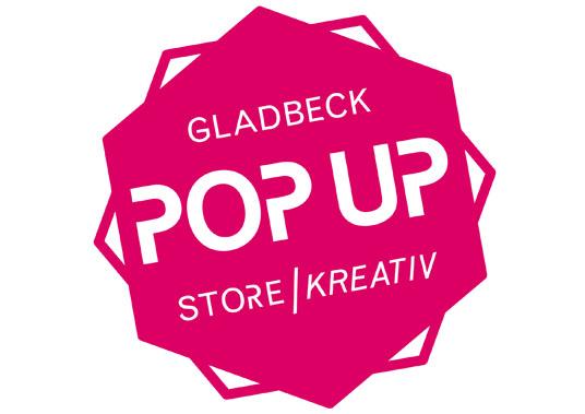 Das Bild zeigt das Logo des Popup-Stores