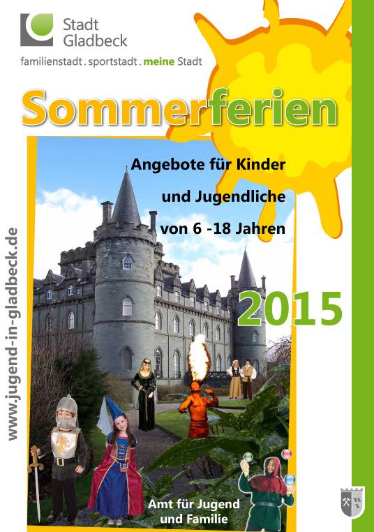 Das Plakat zeigt das Ferienprogramm.