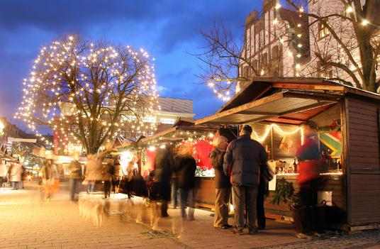 Das Bild zeigt den Nikolausmarkt