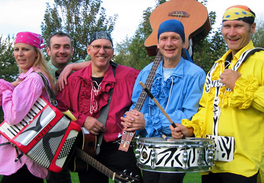 "Das Bild zeigt die Band ""Chris & the poor Boys"""