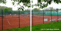 Bild vom Tennisplatz Foto Meyer-Kahsnitz