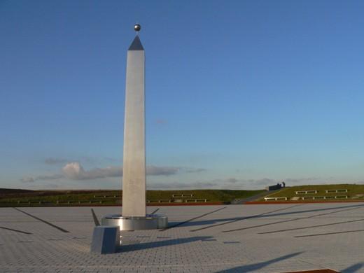 Obelisk auf  der Halde Hoheward