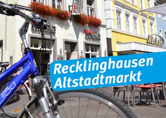 Fahrrad auf dem Altstadtmarkt