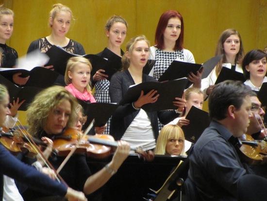 Konzert des städtischen Kinder- und Jugendchor der Musikschule