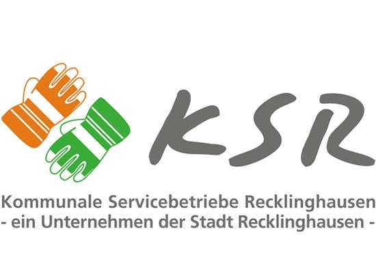 LOGO Kommunale Servicebetriebe Recklinghausen (KSR)