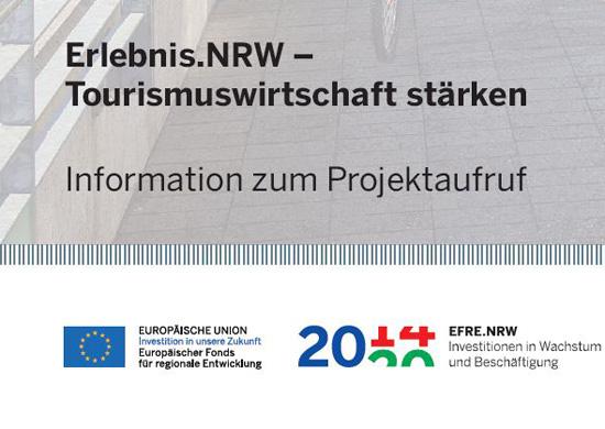 Erlebnis.NRW - Tourismuswirtschaft stärken