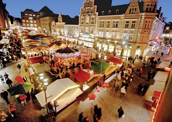 Weihnachtsmarkt Recklinghausen.Details Stadt Recklinghausen