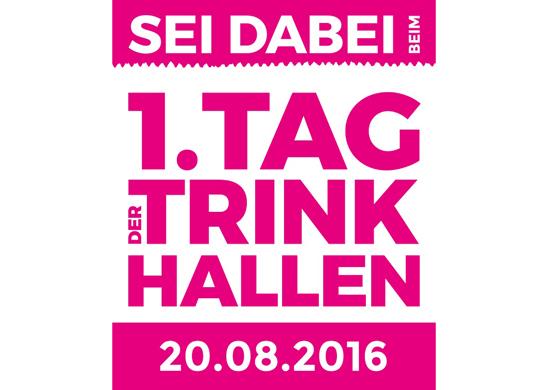 Logo 1. Tag der Trinkhallen