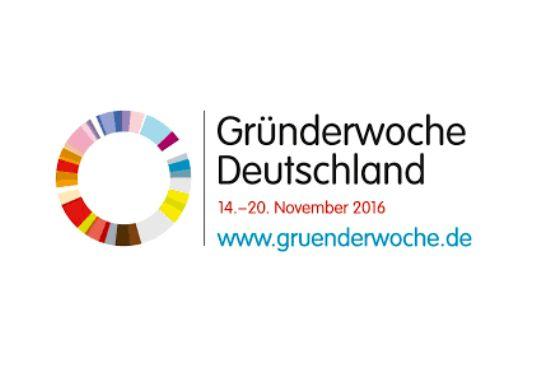 Logo der Gründerwoche
