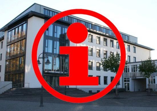 Stadthaus A mit Info-Symbol