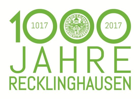 Logo 1000-Jahre-Recklinghausen
