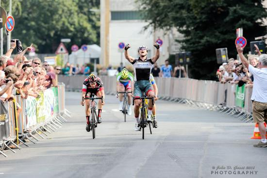 Radrennen, Foto: John D. Grant