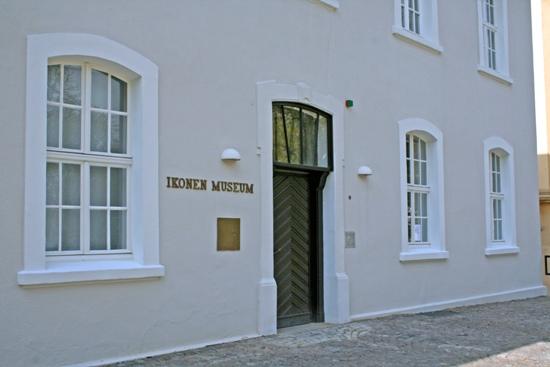 Eingang Ikonenmuseum
