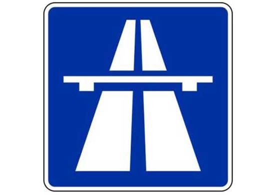 Autobahnschild