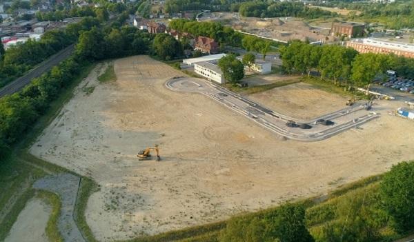 Luftbild Blumenthal