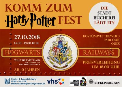 Plakat Harry-Potter-Fest