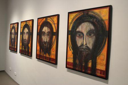 Pressefoto -  Ein Teil der neuen Ausstellung sind die vier Studien des Berliner Künstlers Robert Hehlke.
