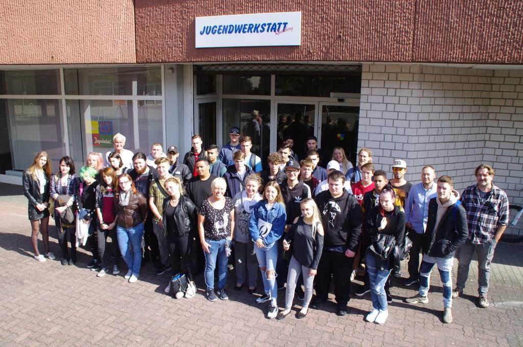 32 Jugendliche haben am Montag, 19. August, ihren einjährigen, berufsvorbereitenden Kurs in der Jugendwerkstatt Quellberg begonnen.