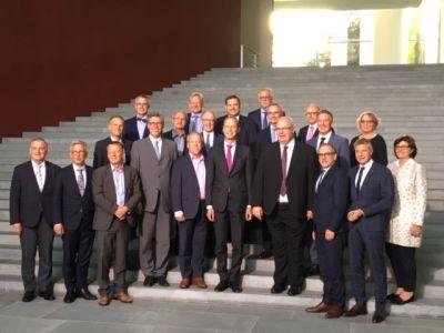 In Berlin warb Bürgermeister Christoph Tesche im Finanzministerium und Kanzleramt für eine bessere Finanzausstattung der Kommunen.