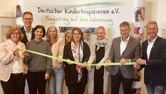 Gemeinsam mit den Organisatornnen stellte Bürgermeister Christoph Tesche das Programm für den Tag der Kinderhospizarbeit vor, der am 10. Februar 2020 im Ruhrfestspielhaus stattfindet. Foto Stadt RE