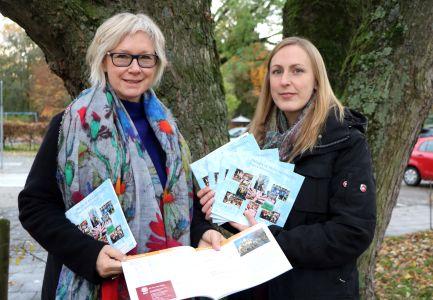Stellten die neue Broschüre vor: Gleichstellungsbeauftragte Gabriele Steue und Juliane Stefani von der Gleichstellungsstelle.
