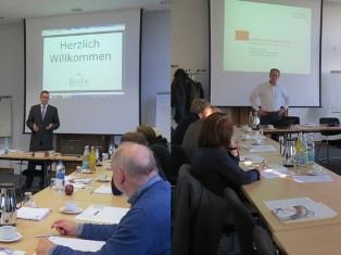 Stefan Schumacher und Dominik Sprenger bei der Gründerwoche 2014