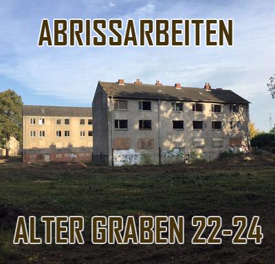 """Auf dem Bild: Gebäude """"Alter Graben 22-24"""" (Foto: Stadt Waltrop)"""