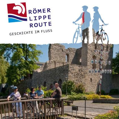 """Bild: """"Unterwegs auf der Römer-Lippe-Route"""" (Derivat), © Kooperationsgemeinschaft Römer-Lippe-Route, c/o Ruhr Tourismus GmbH, atkon AG, Wiesbaden"""