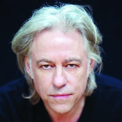 Bob Geldof Foto Scarlet Page