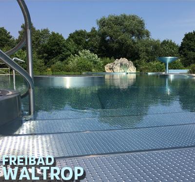 Auf dem Bild: Freibad Waltrop, Foto: Stadt Waltrop