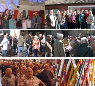 Auf dem Bild: Fotocollage Waltroper Seniorenbeirat, Fotos: Seniorenbeirat