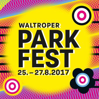 Bild: Aktionslogo Waltroper Parkfest 2017, Grafik: Ritje Diekmann