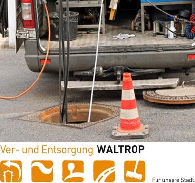 Auf dem Bild: Kanalarbeiten, Foto: mitifoto, fotolia.com