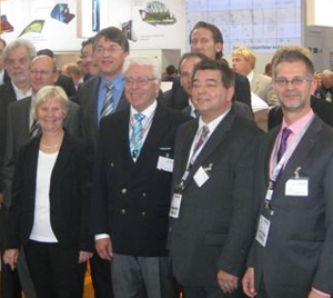Anne Heck-Guthe in einer Expertenrunde auf der EXPO Real