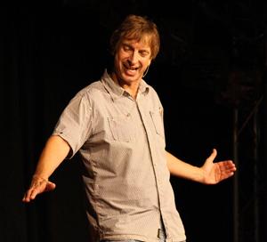 Ingolf Lück auf der Bühne