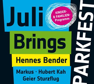 Parkfest Headliner Plakat (C) Maria Dieckmann [Derivat]