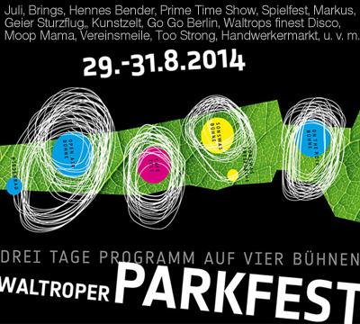 Parkfest Plakat (C) Maria Dieckmann [Derivat]