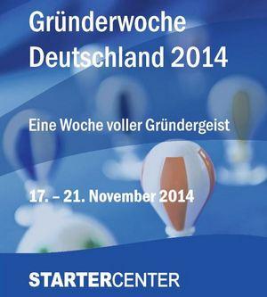 Gründerwoche 2014