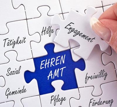 Grafik: Ehrenamt; (c) doc rabe media - fotolia.com