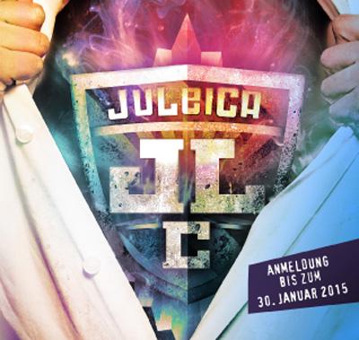 """Bild: Flyer """"JuleiCa 2015"""" (Ausschnitt)"""
